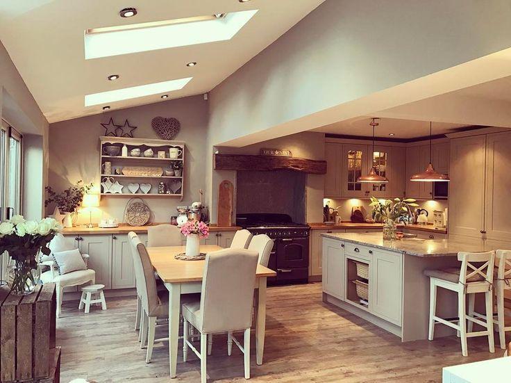 Das Layout ist anders, aber die Struktur unserer Küche