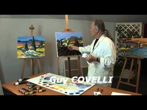 L'écran Créatif - Peindre au couteau 03 (lavande), Guy Covelli