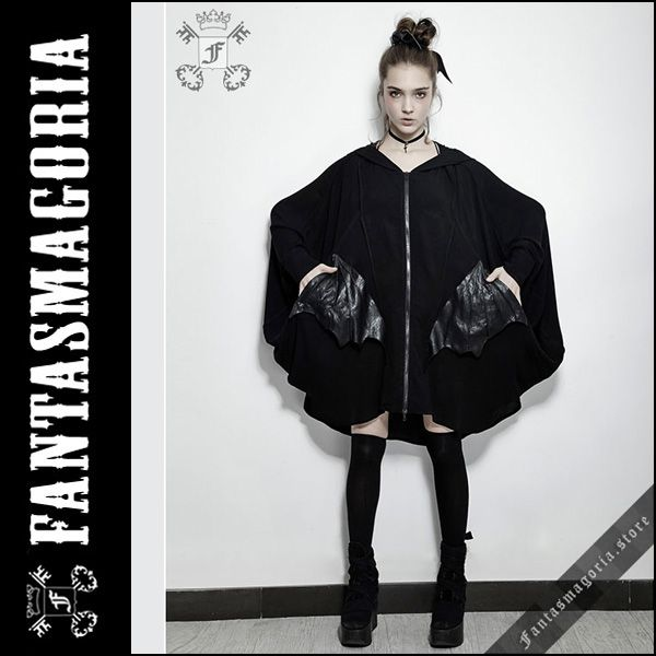 Fantasmagoria ファンタスマゴリア The Bat cape PunkRave BLACK GOTHIC MODE FASHION