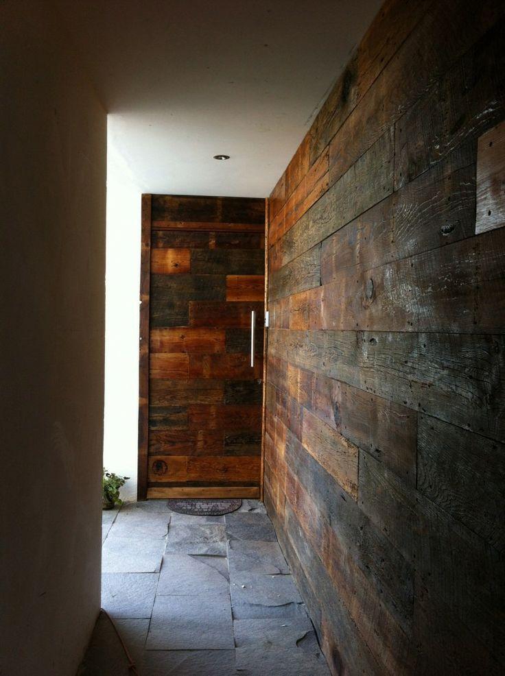 Hacienda San Antonio | Dionne Arquitectos + Posada Arquitectos #wood #entrance