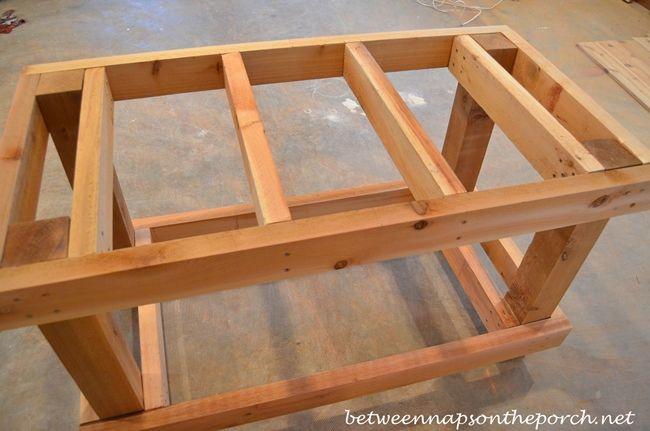 Build a Potting Bench or Garden Buffet Table, Pottery Barn Abbott ...