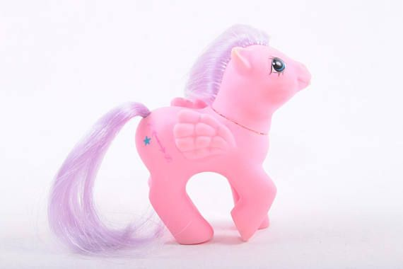 My Little Pony North Star Compass Pink MLP Collectible First Tooth Pegasus Pink Body Purple Hair  The Pink Room  170221 by ThePinkRoom