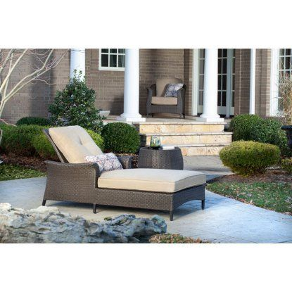 Hanover Gramercy 2 Piece Patio Chaise Lounge Set - Outdoor Chaise Lounges at Hayneedle