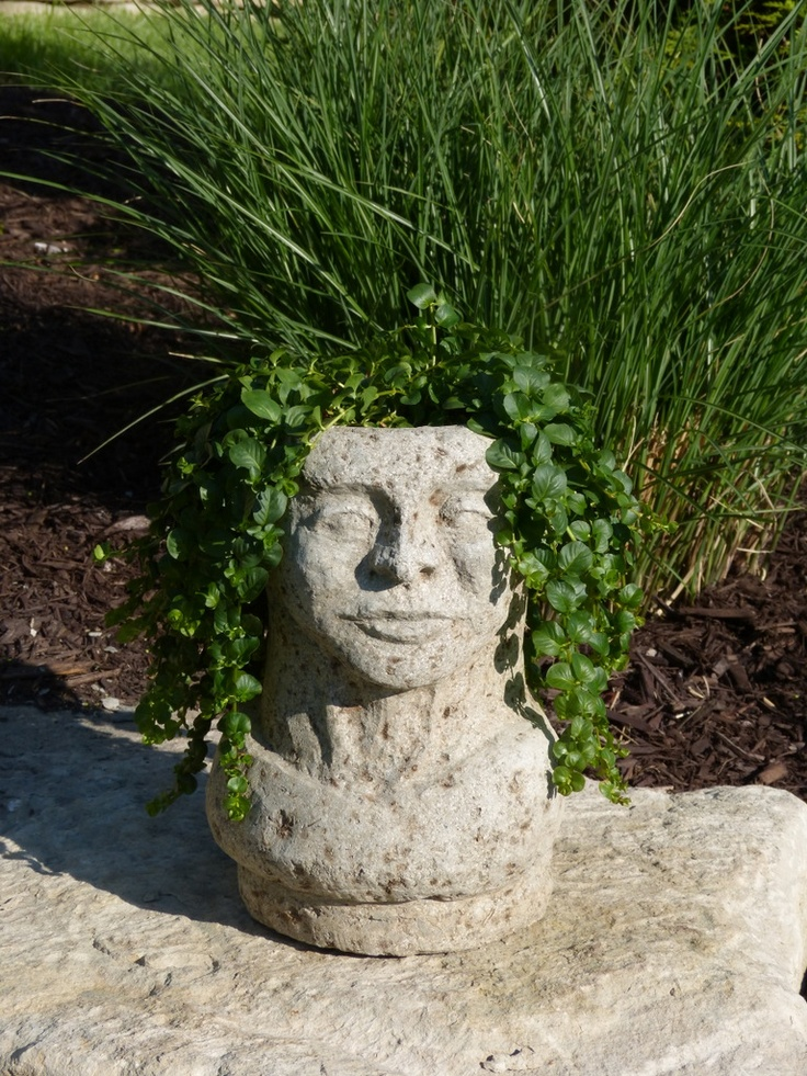 The 397 best images about head planters different on pinterest ceramics medusa head and - Medusa head planter ...