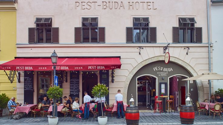 Pest-Buda - luxury boutique hotel, Hungarian bistro in Budapest.