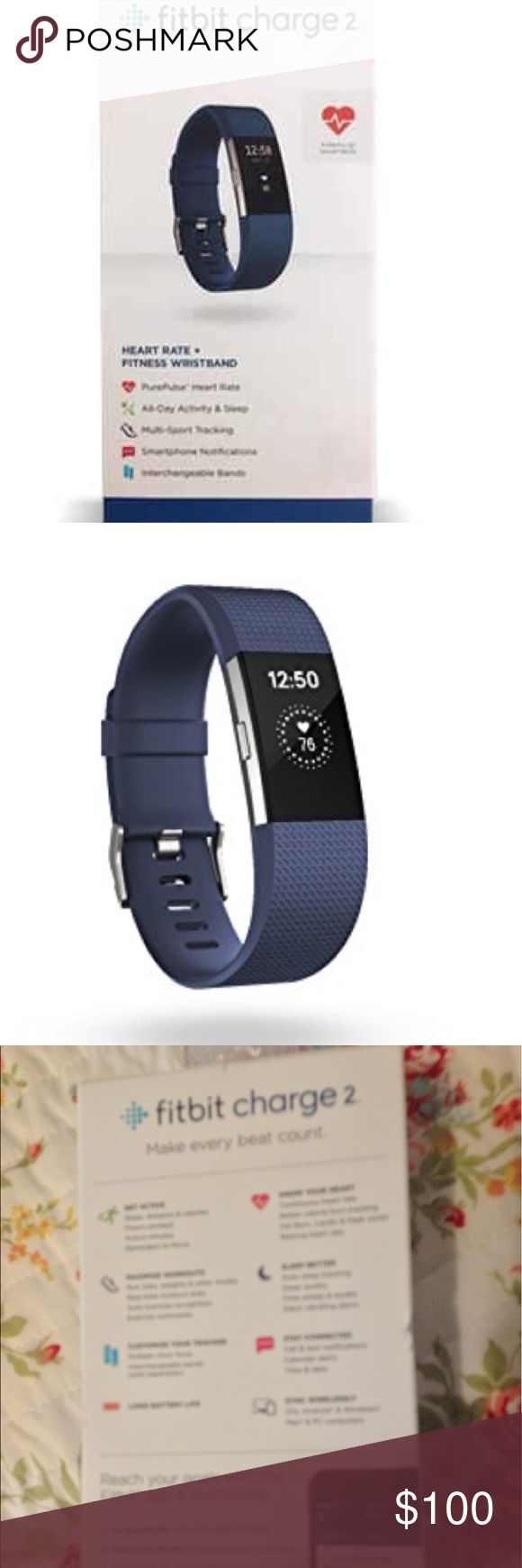 New Fitbit Charge 2. Size Large. New Fitbit Charge 2. Size Large. Fitbit Other