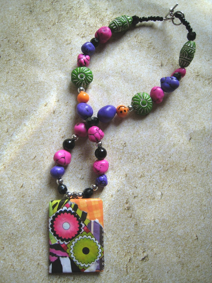 17 best images about paper mache beads on pinterest for How to make paper mache jewelry