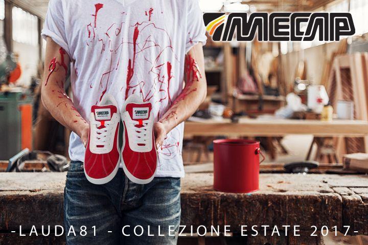 LAUDA 81 ROSSA Rossa come il sangue Pura Passione Evolutiva. Per non passare mai inosservato. MECAP libera tutti.