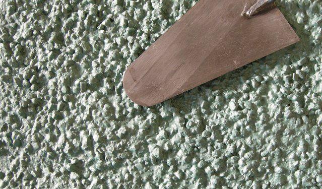 Kellenwurf Mineral Rundkorn Metallic Farbe - Fassadensysteme, Wärmedämmsysteme, hinterlüftete Fassade, Natursteinfassade