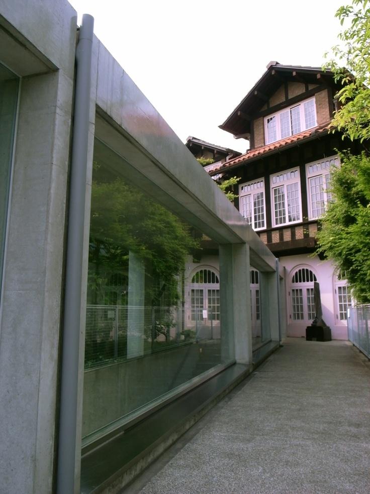 japan-architects.com: 安藤忠雄氏によるアサヒビール大山崎山荘美術館・新スペース『夢の箱』のオープニング