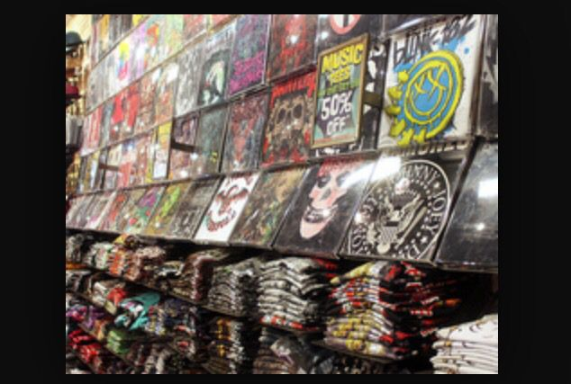 //find someone who will buy you all the band merch you want//