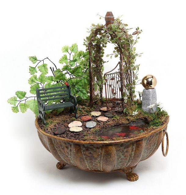Miniature Garden by Diana_Laurence, via Flickr