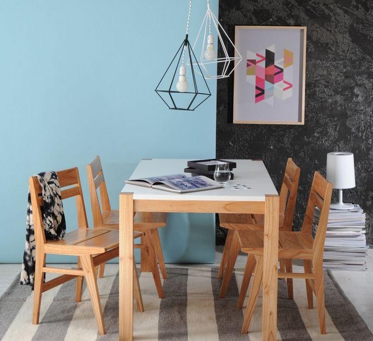 Otra combinaci n en tu comedor mesa bruselas y sillas for Casa muebles palermo