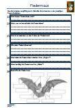 #Fledermaus #Schularbeit #Klassenarbeit #Lernzielkontrolle Unterrichtsmaterial für den #Biologieunterricht.  Verschiedene Fragen zu dem Thema: Fledermaus •Aussehen •Nahrung •Feinde •Eigenschaften •Körperteile •Fledermausarten •Überwinterung •Lebensweise •Nachtaktive Tiere •Nachwuchs •Lebensraum •Orientierung •Überwinterung •Wochenstube •Aussterben •Lückentext •55 Fragen •1 x Lernzielkontrolle •Ausführliche Lösungen