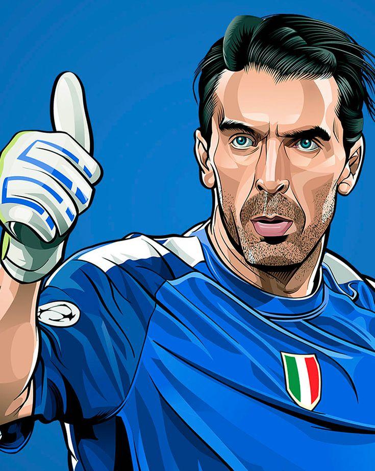 "229 mentions J'aime, 1 commentaires - Juventus Football Club ⚪️⚫️ (@dajejuve) sur Instagram : ""Alcune 'caricature' del Capitano @GianluigiBuffon. Quale preferite? #Buffon #GB1 #Capitano…"""