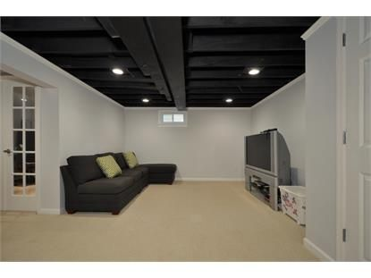 25 best ideas about black ceiling paint on pinterest for Black ceiling basement ideas