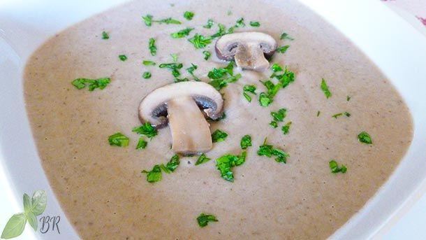 Supa crema de ciuperci, reteta supa crema