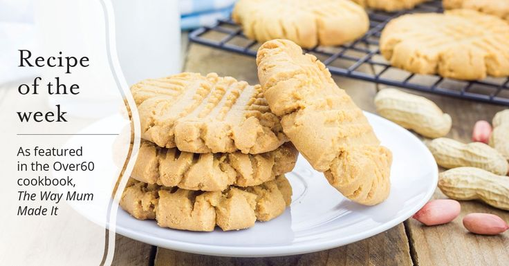 As featured in the Over60 cookbook, The Way Mum Made It, here George shares his recipe for Melted butter biscuits.