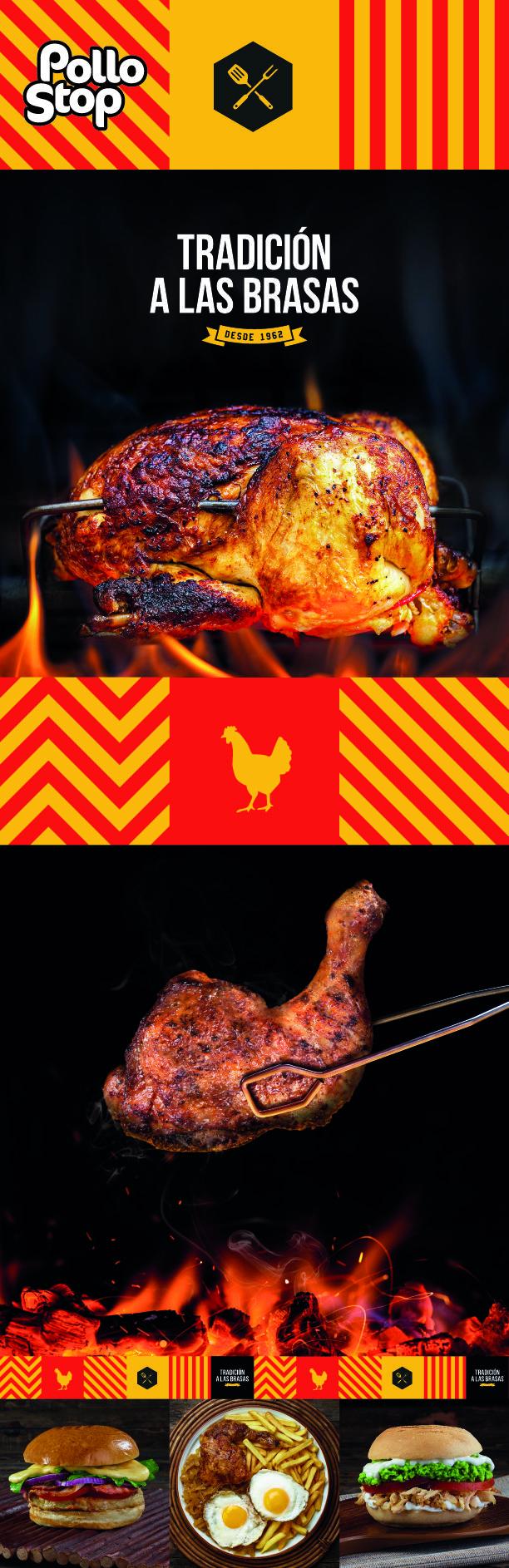 Pollo Stop · Tradición a las Brasas