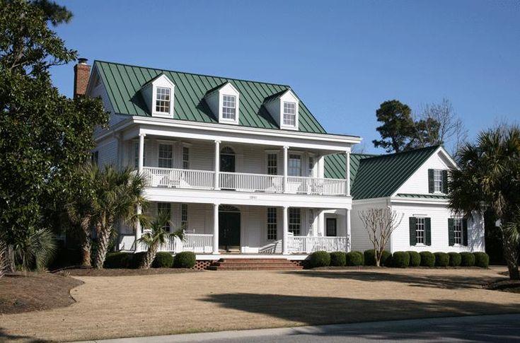 42 best images about coastal house plans on pinterest for Double front porch house plans