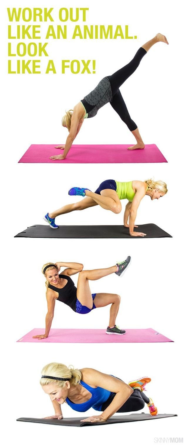 Get foxy with these 15 total body fitness moves!