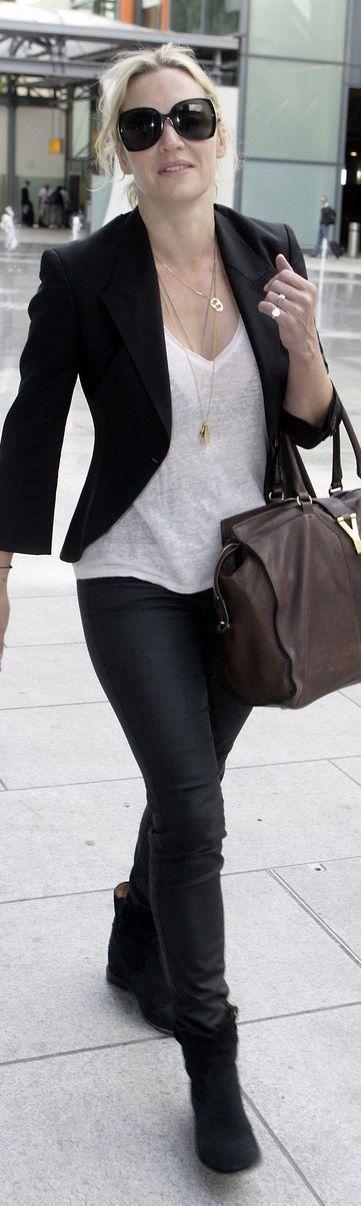 Maybe I need a LIGHTWEIGHT blazer?? Kate Winslet