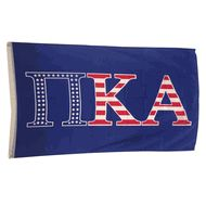 Pi Kappa Alpha USA Greek Letter Flag