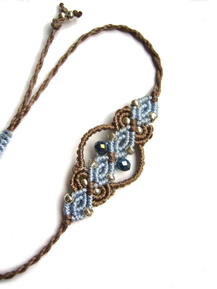Flechtarmbänder - * Armbändchen Makramée  * RESERVIERT für ANJA - ein Designerstück von crochet bei DaWanda