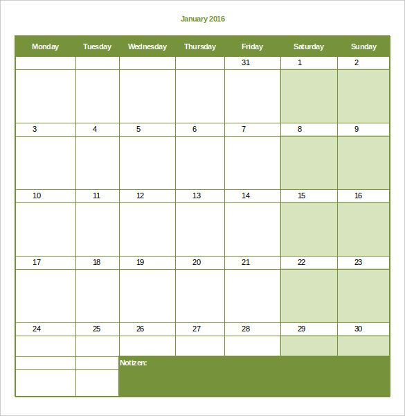 The 25 best ideas about Monthly Schedule Template – Monthly Work Schedule Template