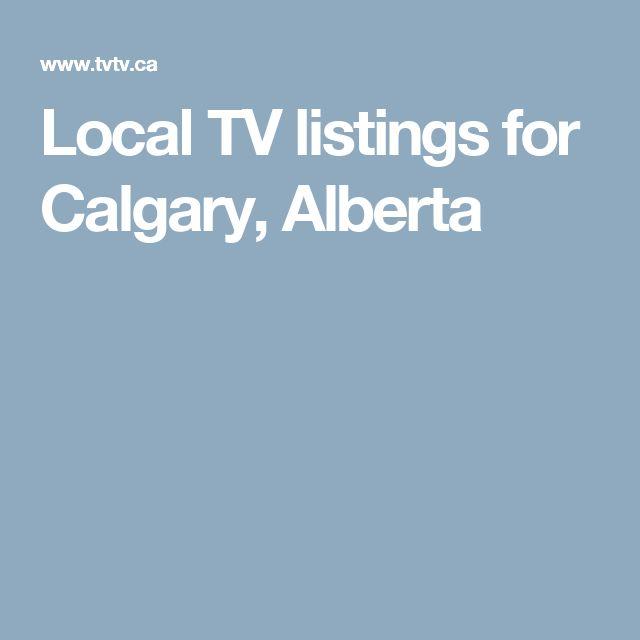 Local Tv Listings For Calgary Alberta Calgary Gresham List