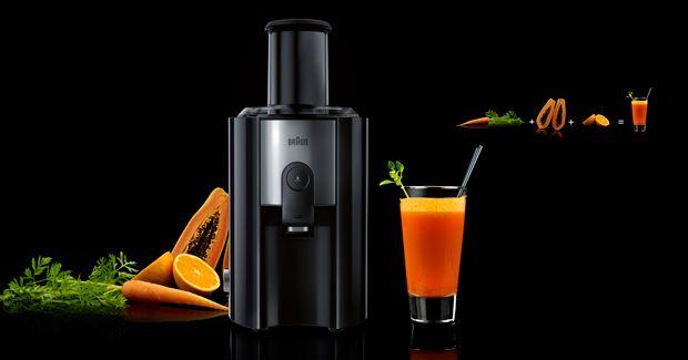 Succo energizzante di carota, arancia e papaya