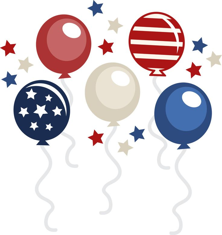 4th of july holiday clip art