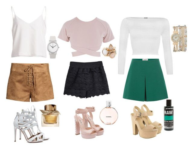 """Which outfit is your favourite ? Shorts & mix match top"" by moniquebovino on Polyvore"