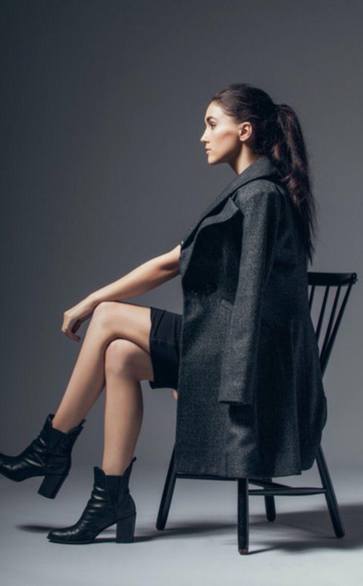 Women's Wool Tweed Coat - GEHRICH