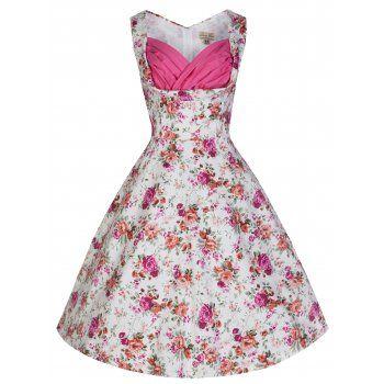 Ophelia Antique Rose Dress | Vintage Inspired Fashion - Lindy Bop