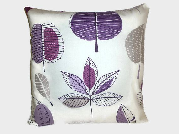 PAIR+Pillow+Covers+Damson+Purple+Grape+4+CHOICES+by+WickedWalls
