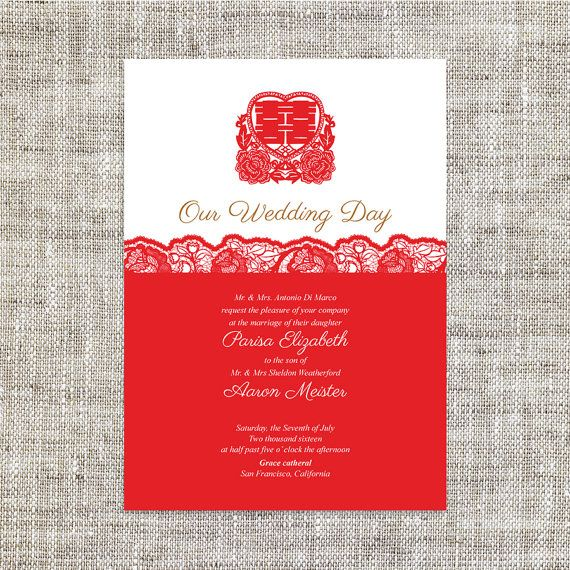 105 best Chinese wedding invites images – Chinese Wedding Invitation Cards