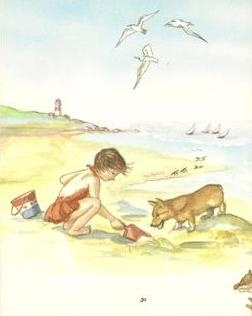 Illustration from Tasha Tudor's First Poems of Childhood
