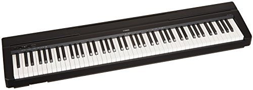 Yamaha P71 88-Key Weighted Action Digital Piano with Sustain Pedal and Power Supply (Amazon-Exclusive) * Want to know more, click on the image.