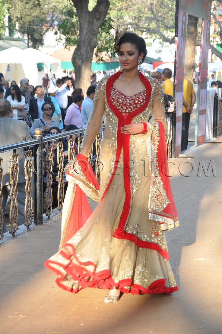 Layered Jacketed Lehenga #Loveit