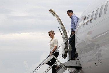 mitt romney's bus tour manassas va | ... candidate Mitt Romney and his wife, Ann, arrive Friday in Norfolk, Va