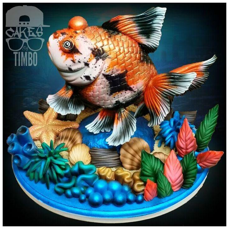 """Tim """"Timbo"""" Sullivan - Underwater Bobble Goldfish Class"""