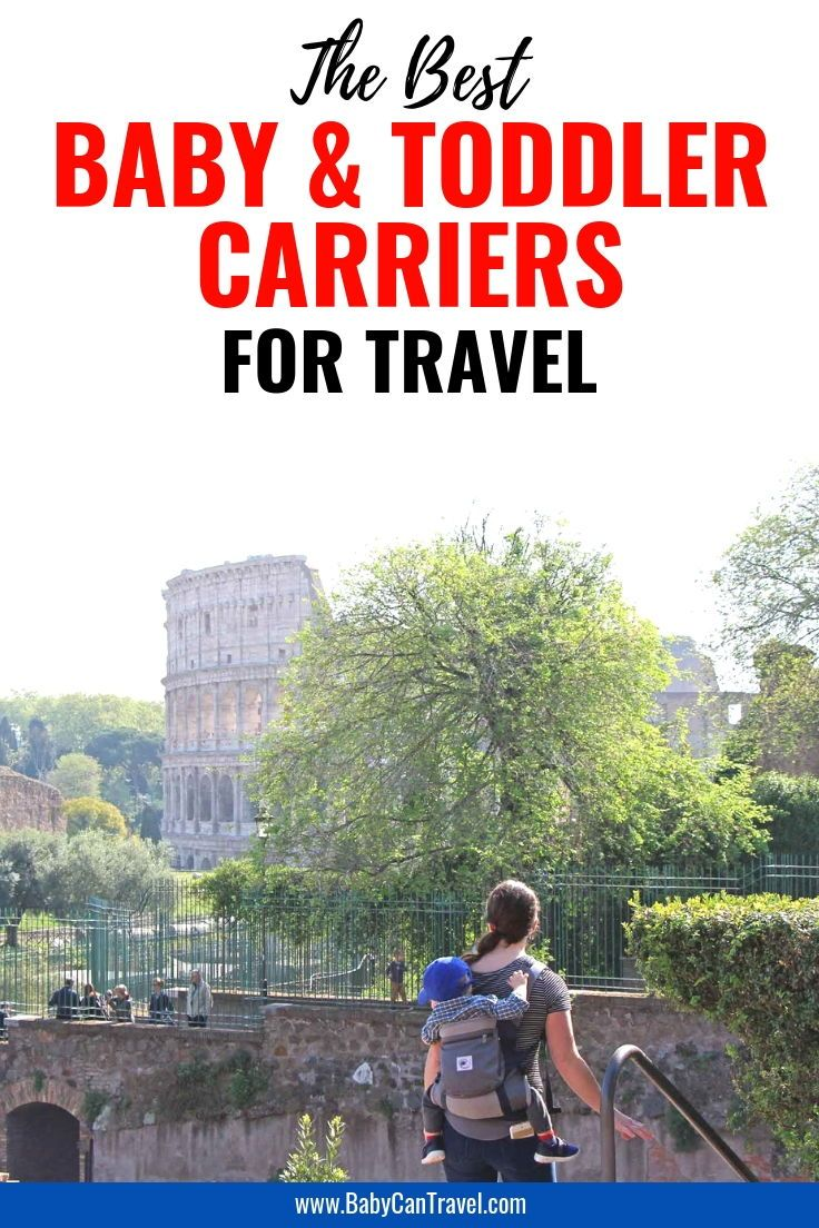 Best Baby Carriers for Travel | Family Vacation | Traveling with