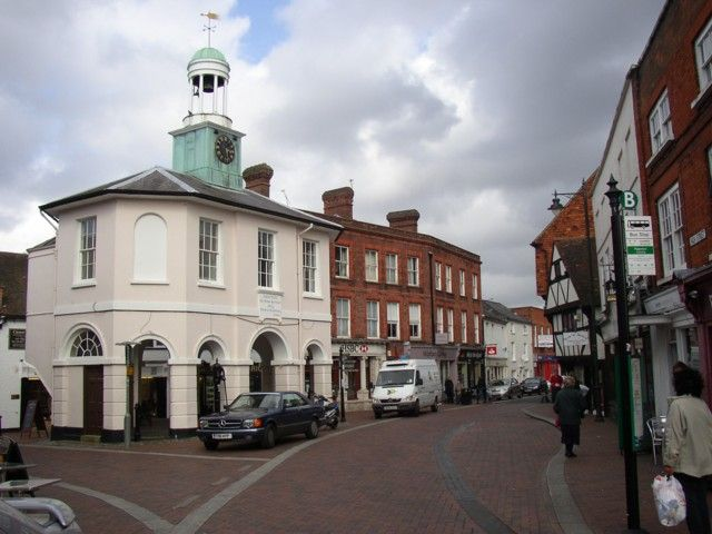 Town my Hubbie is from! Godalming, England