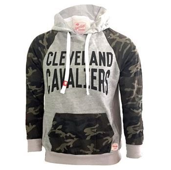 Cavs Cavaliers Two Toned Camo Hood at the Cleveland Cavaliers Team Shop