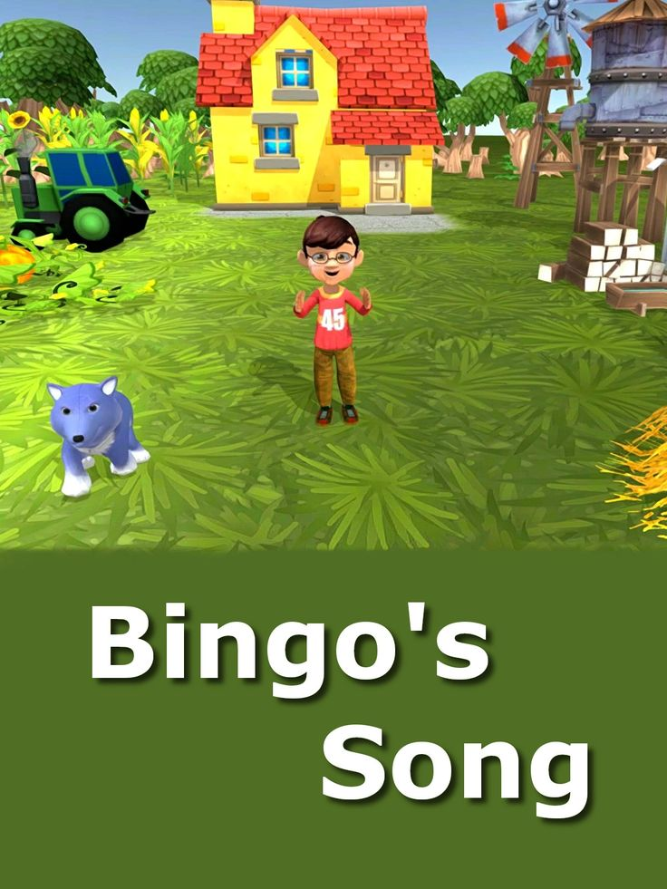 There Was A Dog Named Bingo Song