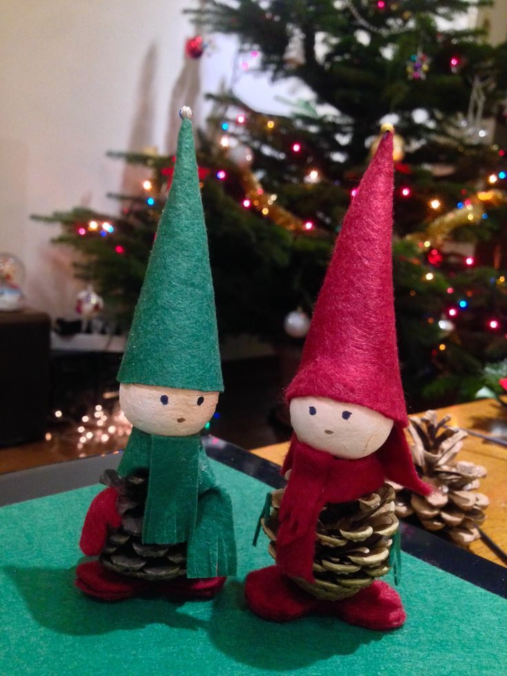 Handmade Christmas ornaments by Bianca