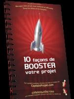 Guide '10 façons de booster son projet' par captainprojet
