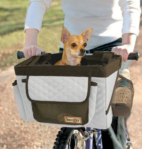 Have one to sell? Sell now Details about  NEW Snoozer Buddy Bike Basket Grey and Black
