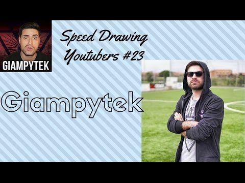 Speed Drawing Youtubers #23 - Giampytek
